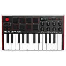 More details for akai mpk mini mk3 midi controller keyboard