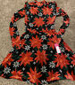 Womens Ugly Christmas Sweater Dress Size Small NWT