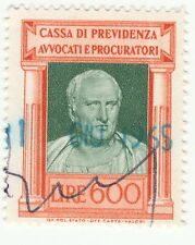 CASSA DI PREVIDENZA AVVOCATI E  PROCURATORI - LIRE 600 - 1956 (d)
