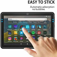9H Tempered Glass Screen Protector For Amazon Kindle Fire HD 8 & 8 PLUS 10th Gen