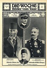 Herzog Ludwig degli Abruzzi * Enver-con * Gen. Caneva * Mahmud schewket 1911