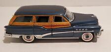1953 Danbury Limited Edition Buick Estate Wagon 1:24 Imperial Blue Nib