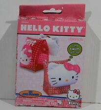 HELLO KITTY Pink SWIM 3D ARM FLOATS New 40-55 lbs. One Pair