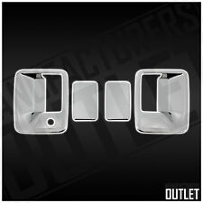 2008-2016 Ford F-250 F-350 F-450 Ext/Reg Cab 2dr Chrome Door Handle Cover Trim