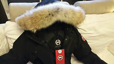 "2018 ""LATEST CONCEPT"" RED LABEL BLACK CANADA GOOSE VICTORIA ""LARGE"" PARKA JACKET"