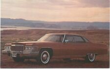 Cadillac Sedan De Ville for 1976 original USA issued Postcard