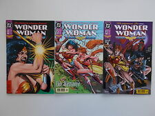 3x WONDER WOMAN - Heft Nr. 1 + 2 + 3. DC, Dino Comics. Z. 2