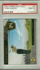 Tiger Woods 2004 Upper Deck UD Legendary Links PSA 10 Gem Mint *POP 27*