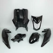 Fairing Kit P2R for Scooters Kymco 50 Agility 2004 To 2020 Shiny Black / 6 P