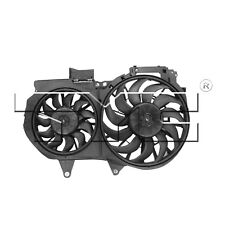 For Audi A4 L4 2003-2008 Dual Radiator and Condenser Fan Assembly TYC 622540