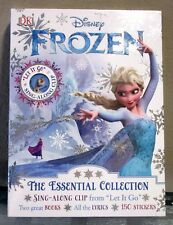 Disney Frozen Essential Collection - 2 Books, 150 Stickers, Sing-Along Clip NEW!