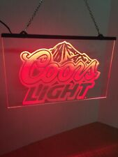 Coors Light Led Neon Sign Game Room , Bar , garage Sign