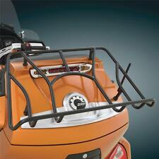 Black Tour Trunk Rack for Can Am Spyder RT, RTS, RT Ltd - Show Chrome (41-155BK)