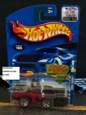 HOT WHEELS 2002 #186 -5 WHEEL LOADER FACT SEAL 02C CHINA
