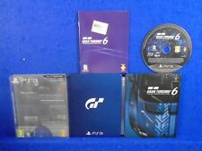 ps3 GRAN TURISMO 6 Anniversary Steelbook Limited Edition PAL