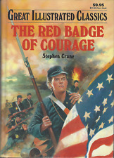 The Red Badge of Courage by Stephen Crane HARDCOVER - VERY GOOD - LARGE PRINT Ed