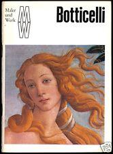 """Reihe: """"Maler und Werk"""", Sandro Botticelli, 1975"""