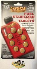 Dyno-tab® Fuel Stabilizer 8-tab Card Dynotab For all Grades of Gas & Diesel Fuel