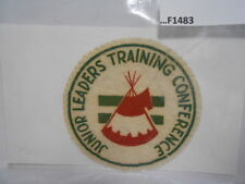 JUNIOR LEADERS TRAINING CONFERENCE  FELT PATCH F1483