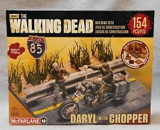 McFarlane Toys Building Set The Walking Dead Daryl with Chopper