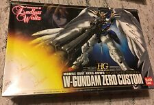 NIB GUNDAM-W ENDLESS WALTZ MOBILE SUIT XXXG-OOWO W-GUNDAM ZERO CUSTOM 1998 JAPAN