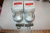 New Pistons Harley Davidson Knuckle,Pan,Shovel +.010 74ci 1941-1978FREE SHIPPING