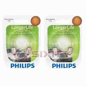 2 pc Philips Rear Side Marker Light Bulbs for Land Rover Defender 90 ot