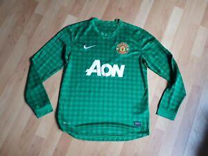 Manchester United nike green goalkeeper shirt vgc medium
