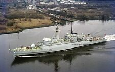 ROYAL NAVY TYPE 21 FRIGATE HMS ARDENT - RIVER CLYDE 1977