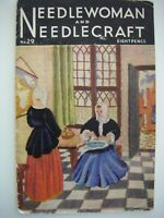 Jan 1947 - NEEDLEWOMAN and NEEDLECRAFT No.29 - Complete with Transfer Page