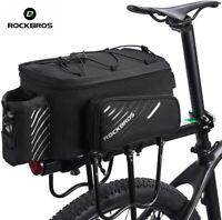 ROCKBROS Bike Trunk Bag Bicycle Rack Rear Carrier Bag Bike Luggage Bag Panniers