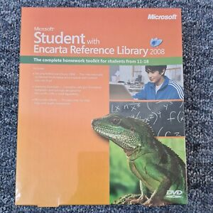 MICROSOFT Student With Encarta Reference Library 2008 Homework Toolkit DVD