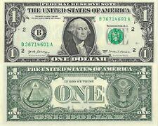 USA . BILLET DE 1 DOLLAR . NEUF . 2017 .