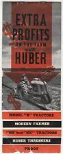 RARE - HUBER Farm Tractor Catalog Brochure B HS HK & Threshers ca 1930s