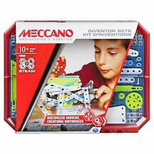 Meccano Steam Set of 5 Motorised Movers Construction Building Set Toy