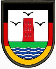 Wappen von Pellworm Aufnäher ,Pin, Aufbügler