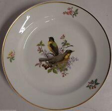 Keramik-Teller mit Vogel-Motiv