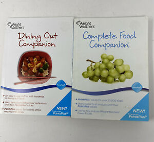 Weight Watchers Points Plus 2010 Complete Food & Dining Out Companion Books WW