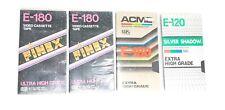 3-pack Hanimex E180 High Grade Blank Video Cassette Tape