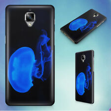 SEA NATURE BLUE DARK HARD BACK CASE FOR ONEPLUS PHONES