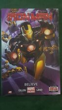 Iron Man Believe Premiere Edition Marvel New Sealed GN HC Hard Cover
