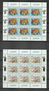 s38741 BOSNIA CRATIC ADMIN EUROPA CEPT 2002 MNH** MSx2