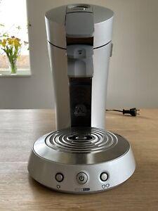 Philips Senseo Kaffeepadmaschine HD 7830 silber grau Edelstahl