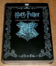 HARRY POTTER COLECCION COMPLETA 1-8 DVD CAJA METALICA JUMBO NUEVO PRECINTADO R2