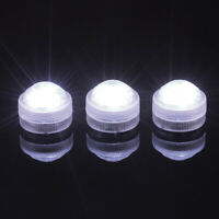 1/10 Pcs LED Waterproof Light Underwater RGB Lamp For Pool Spa + Remote Control