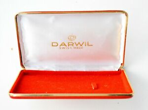 Darwil Vintage Watch-Swiss Made-Red empty box