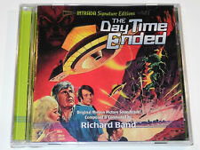 Richard Band THE DAY TIME ENDED and THE DUNGEONMASTER Soundtrack CD New & Sealed