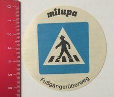Aufkleber/Sticker: Milupa Sicherheit Für Ihr Kind - Fußgängerüberweg (280516101)