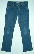 Distressed Worn Knees LOW Rise Boot Cut OLD NAVY The Dreamer Jeans! 1
