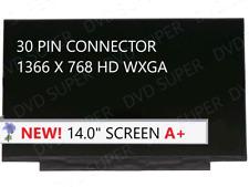 B140Xtn07.3 fit B140Xtn07.2 1366X768 No screw holes Edp 30 pin Lcd Screen Panel